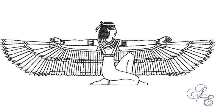 isis coloring pages - egyptian goddess isis tattoo sketch coloring page