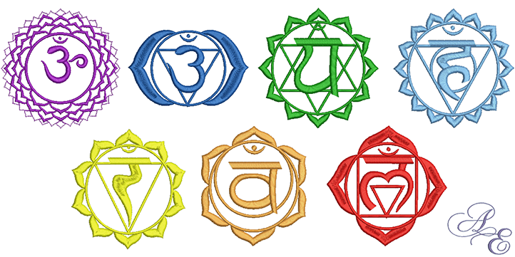 Chakra Collection Medium Art Of Embroidery