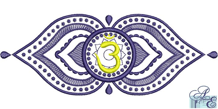 Anja Third Eye Chakra3 Medium Art Of Embroidery